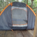 Bedded tent